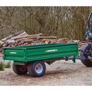 WT-3.0T Hydraulic Tipping Trailer 3 ton