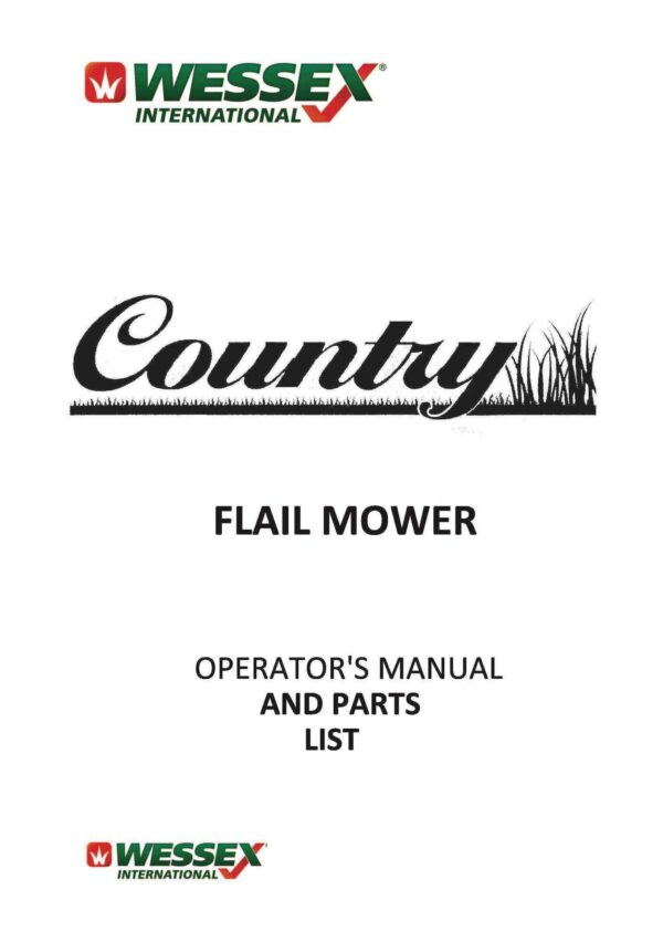 Country fl flail page 01 - professional groundcare & agricultural equipment