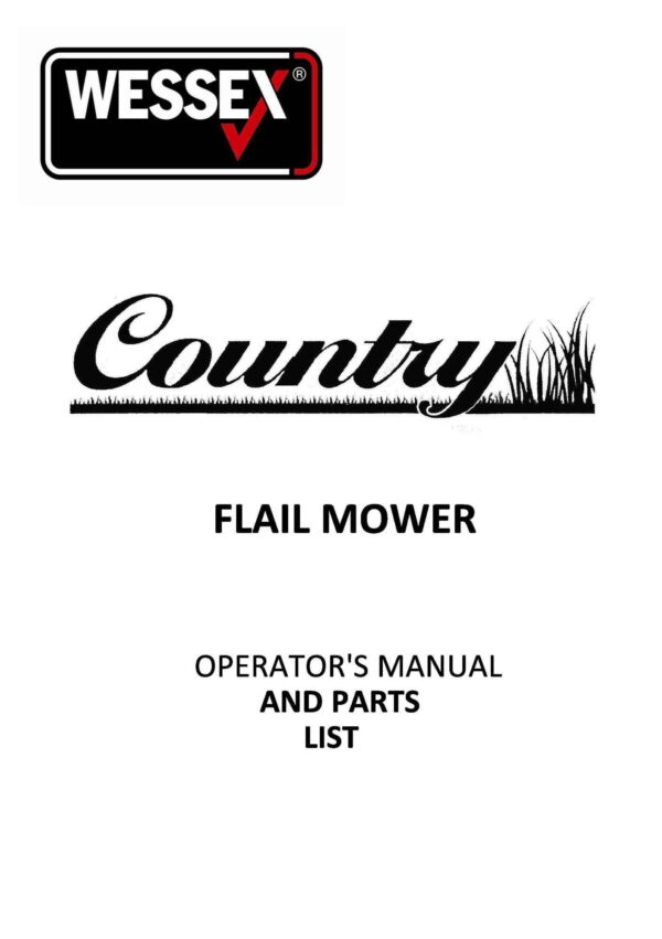 Country fls flail mower page 01 - professional groundcare & agricultural equipment