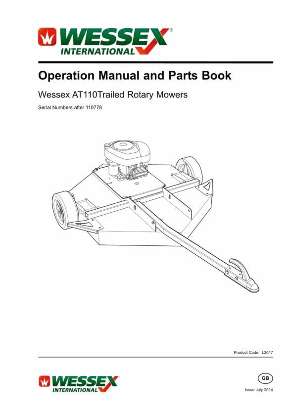 L2017 at 110 trailed rotary mower revised page 01 scaled - professional groundcare & agricultural equipment
