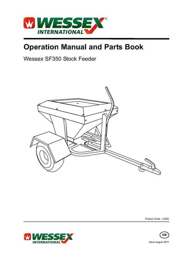 L2024 stock feeder sf350 page 01 1 - professional groundcare & agricultural equipment