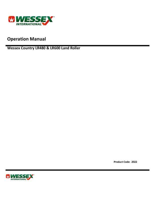 Landroller lr480 lr600 page 01 1 - professional groundcare & agricultural equipment