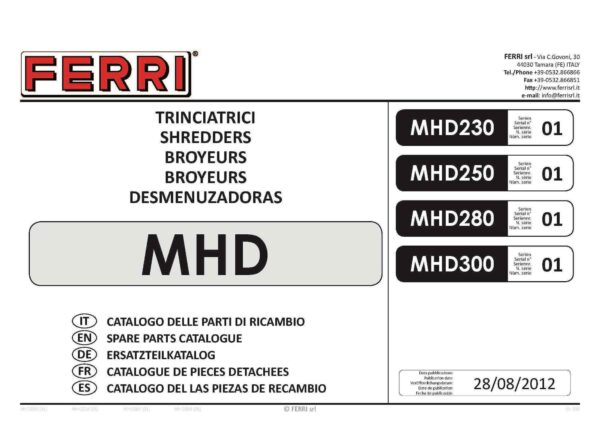 Mhd page 01 - professional groundcare & agricultural equipment