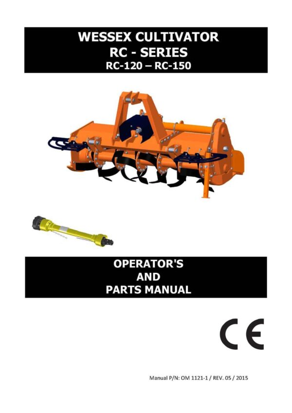 Rc cultivators 2016 page 01 - professional groundcare & agricultural equipment