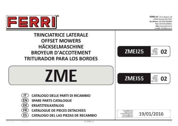 Zme 125 155 dx 02 page 01 - professional groundcare & agricultural equipment