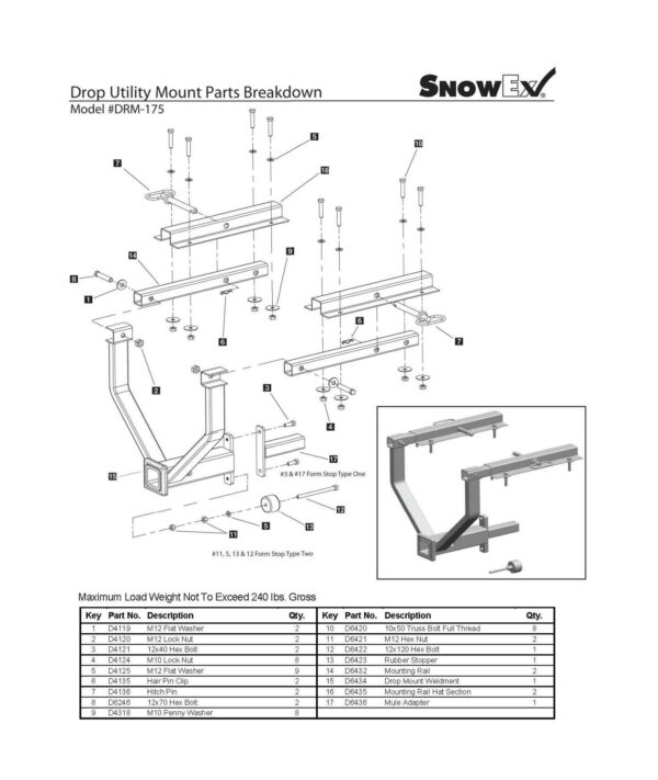 Drm 175 - professional groundcare & agricultural equipment